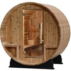 2 Person Sauna, Barrel Sauna, Traditional Saunas, Sauna Design, Design Design, Steam Sauna, Vista Windows, Sauna Room, Sauna House