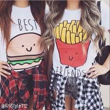 Imagini pentru camisa best friends