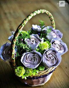 Cesta bouquet.