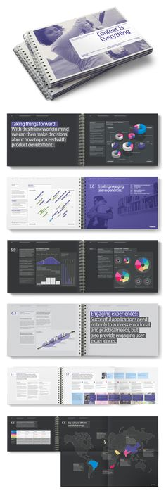 Nokia Info-graphics Book by Socio Design , via Behance portfolio idea
