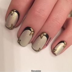 Top gold nail art designs 2017 - Reny styles