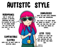 Autistic Style – Doodle Beth's Blog of Stuff