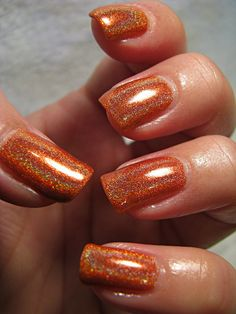 """LynBDesigns Am I Ginger from the """"Innuendos in Space"""" Collection.  Swatched.  $6 shipped.  Meah"""