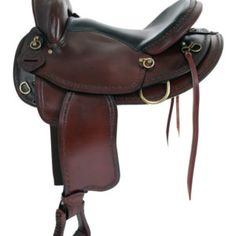 American Saddlery trail saddle on sale and featuring round skirt, Ralide flexible tree and nickle plated hardware. Horse Saddle Shop, Western Horse Saddles, Trail Saddle, Horse Tack, Used Saddles, Stirrup Leathers, Boots Store, Chestnut Horse, Chairs