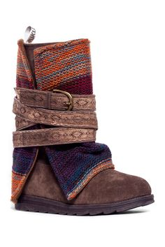 c80ab4ba0713 Nikki Belt Wrapped Boot by MUK LUKS on  HauteLook Fashion Boots