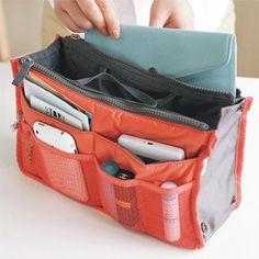 Travel Packing Bag Orange