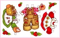 Strawberry Shortcake paper doll 2