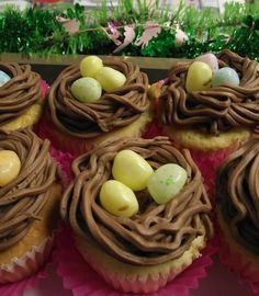 Enjoy a gorgeous Easter treat! Have an Easter themed cupcake from Kitchen Chemistry in the Pocono Mountains! #PoconoMtns