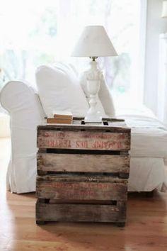 DIY - drewniana skrzynka