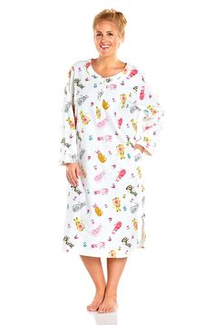 14ebb186c1 Always For Me Mandarin Collar Plus Size Nightshirt. Flannel NightgownNight  WearNightgownsPjsPajamasNight TimePlus Size WomenUnderwearLadies Capes