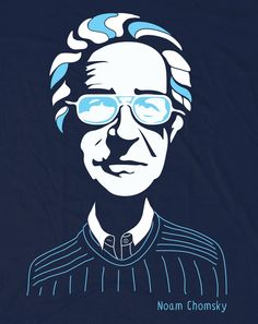 Chomsky t-shirt turned out even better than expected. What do you guys think?#NoamChomskyhttps://www.allriot.com/shop/noam-chomsky-tribute-t-shirt