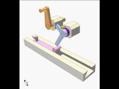 Slider crank mechanism with elbow-lever 1
