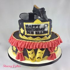 Musical Theatre and Tap Dancing Cake   Cake for a Dancer or performer