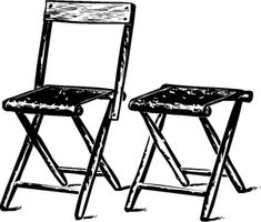 Tips on how to find the best folding chairs Primitive Tables, Primitive Dining Rooms, Primitive Bedroom, Primitive Bathrooms, Primitive Homes, Primitive Kitchen, Country Primitive, Primitive Decor, Best Folding Chairs