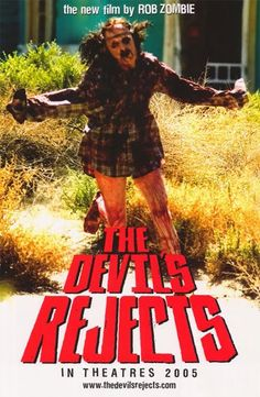 """Rob Zombie's The Devil's Rejects """"running victim"""" mini promo poster<br>Signed by Rob Zombie! Rob Zombie Film, Zombie Movies, Scary Movies, Great Movies, Terror Movies, Man Movies, Horror Movie Posters, Cinema Posters, Film Posters"""