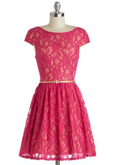 Raspberry Lace