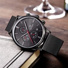 Visit US at http://www.dikronoshop.com/products/chronograph-watches-men-stainless?utm_campaign=social_autopilot&utm_source=pin&utm_medium=pin #watches #shopping #fashion #women #clothing