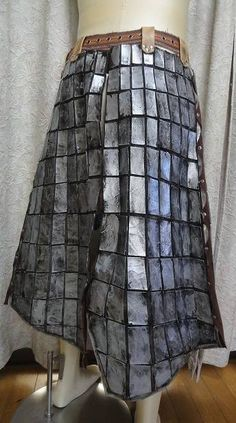 Gianosu equipment waist armor of how to make - cosplay modeling of how to make a paper pattern of the site [Gyakuyoga] Sample images 400 or more public, weapons, armor, props, etc.