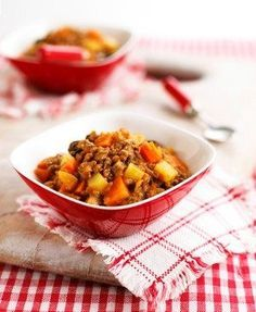 Annabel Karmel's Beef, carrot and sweet potatoes - Weaning & baby recipes -MadeForMums