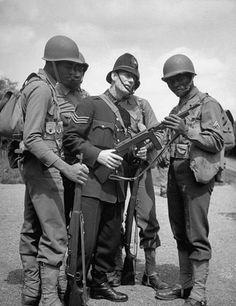 London at War - Black American GIs