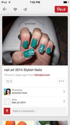 Detailed nail art