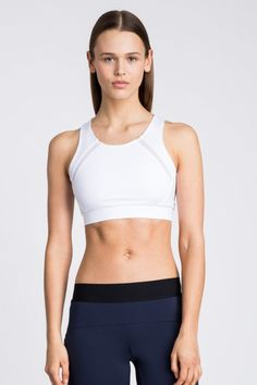 Studio Bra I have this in black. Now I need it in white! @BandierNYC