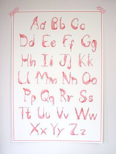Pink Flamingos Alphabet, ABC print, 18 x 24 poster Flamingo Nursery, Flamingo Decor, Pink Flamingos, Girl Nursery, Girl Room, Baby Room, Nursery Room, Nursery Themes, Nursery Decor