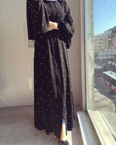 Image in hijab💖 collection by Zahraa A. Hijab Style Dress, Hijab Wedding Dresses, Abaya Style, Hijab Bride, Muslim Women Fashion, Islamic Fashion, Niqab Fashion, Modest Fashion, Mode Abaya