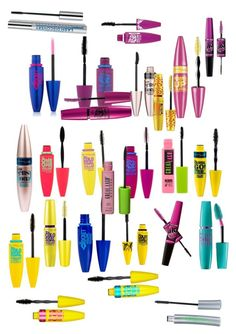 """""""Maybelline mascara"""" by grace-hobson on Polyvore"""