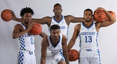 The 14 coaches from around the Southeastern Conference have spoken and they named four of John Calipari's Kentucky Wildcats to their preseason All-SEC teams