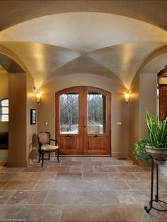 Entry Photos Old World Tuscan Design, Pictures, Remodel, Decor and Ideas - page 21
