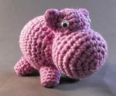 Ravelry: Hippo Hippo Hippo pattern by Jean Herman @Chris Long I need you to make me 20 of these please and thanks