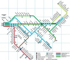 Submission – Official Map: Metrorail Western Cape, South Africa Submitted by Edward Russell, who says: This is the Cape Town Metrorail map as posted in the Cape Town railway station. It's a pretty. Transport Public, Transport Map, Station Map, Train Station, Worcester Park, News South Africa, Northern Line, Singapore Map, Subway Map