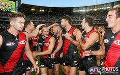 Round 2 - The Bombers win in a nail-biter
