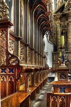 Beautiful Places...St. Catherine Church, Krakow, Poland, photo by JerzyW via Flickr.