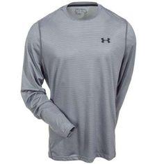 Under Armour Tech Loose Long Sleeve Black W//Grey Stitch Item 1249033 Size XLarge