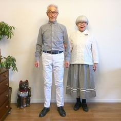 bon・pon (@bonpon511) • Instagram photos and videos Japanese Couple, Fashion Couple, Lace Skirt, Beautiful Women, Hipster, Photo And Video, Couples, Silver Style, Skirts