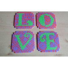 Perfect Love for Valentine's Day!!!! Perler Bead Degins!