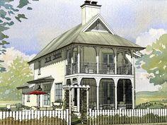 Coastal House Plans, Beach House Plans, Luxury House Plans, Beach Cottage Style, Beach Cottage Decor, Coastal Cottage, Southern Cottage, Lake Cottage, Coastal Homes