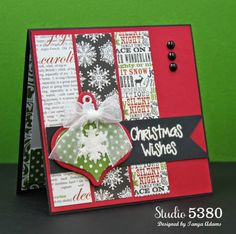 Studio 5380 Sizzix Triplits Die Set - Ornaments