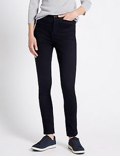 Roma Rise Holding Power Straight Jeans with Sculpt and Lift | M&S