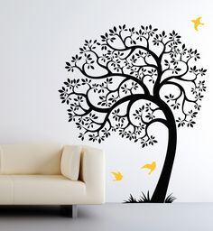 Nursery wall decals with a modern flair. #wall #decals #modern #nursery