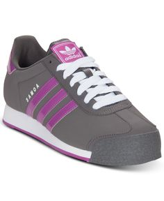 adidas Women's Samoa Sneakers from Finish Line - Kids Finish Line Athletic Shoes - Macy's