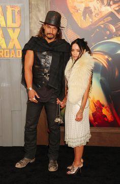 "Jason Momoa Jokes That He ""Kinda Stalked"" Wife Lisa Bonet Before They Met"