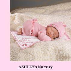 God's Gift Tiny Miracle Lifelike Reborn Newborn Baby Girl Doll w Blanket | eBay