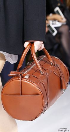 Christian Dior S-16 RTW: leather handbag. ♕BOUTIQUE CHIC♕
