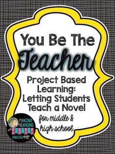 This project-based learning opportunity allows students to become the teacher for a whole class period! Divide the class into groups and have each group teach a chapter of the novel, complete with a list of requirements, a lesson planning template, an essay reflection prompt, and a full Great Gatsby sample project.All documents are included; just update the editable dates to match your schedule, print, and go!Students love the autonomy of this project and do a fantastic job of becoming the…