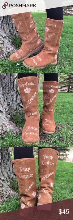 4591defc54a JUICY COUTURE BOOTS for GIRLS SIZE 4 Great excellent condition!!! Please  view all