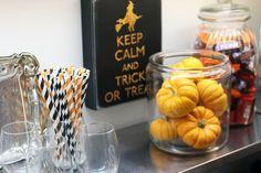 Holiday Home Feature: Jordan Stanley's Precious Halloween Decor