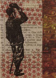 ATC Artist Trading Card atc Artist Trading Card see more at www.GallerieLulu.com